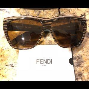 Fendi Sunglasses, polarized lenses